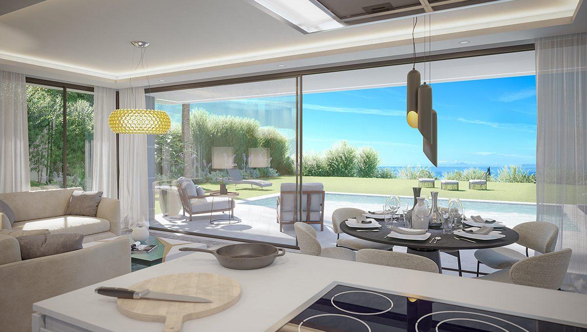 Aquamarina living room views